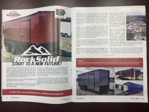 rock solid cargo trailers, douglas, trailer review