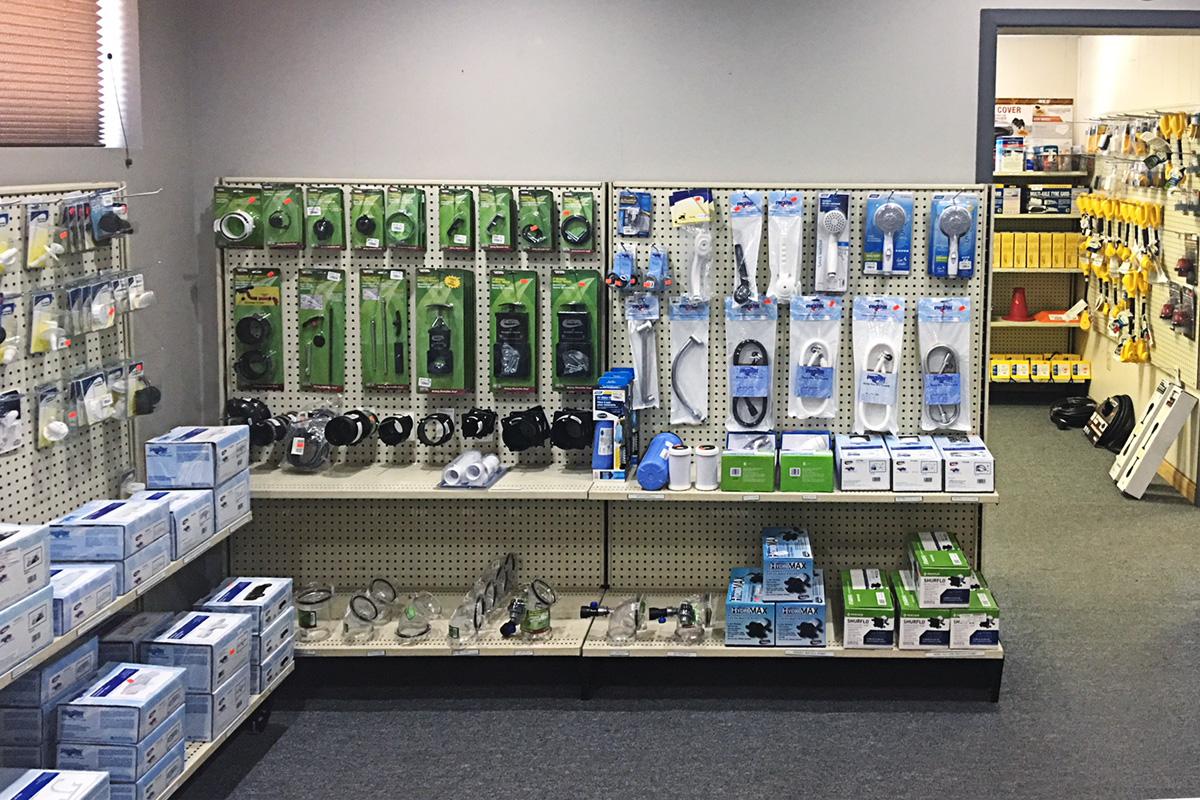 RV parts department plumbing santa fe RV