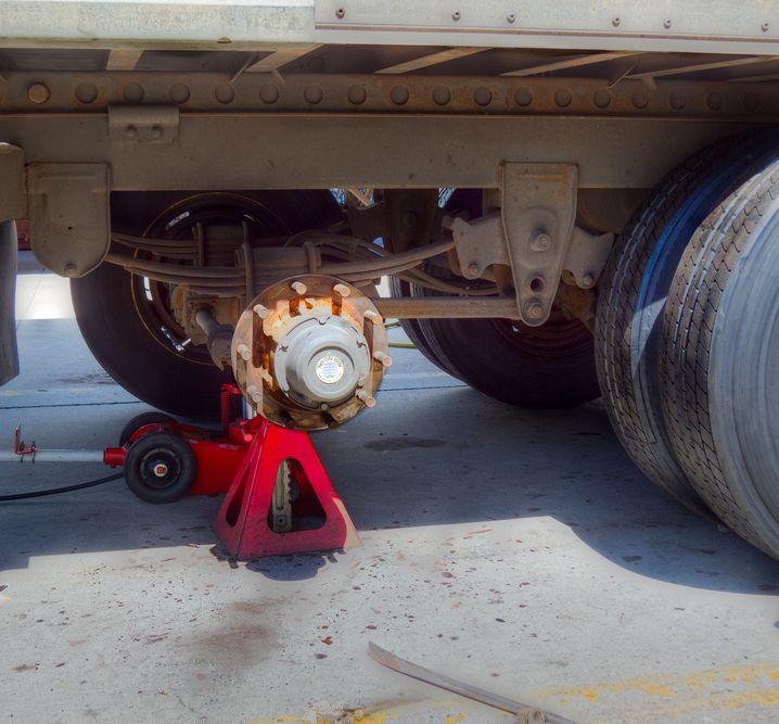 Trailer brake repair