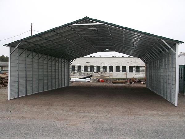 2x3 Steel A-Frame Carport Wilmington NC