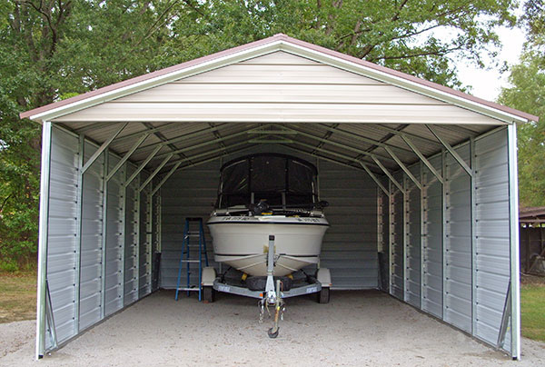 Metal RV carport Wilmington NC