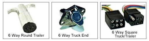 6-way connector image