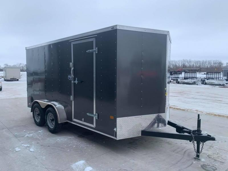2021 American Hauler 7' x 14' x 6'6 7k Arrow Deluxe UTV PACKAGE Enclosed Trailer
