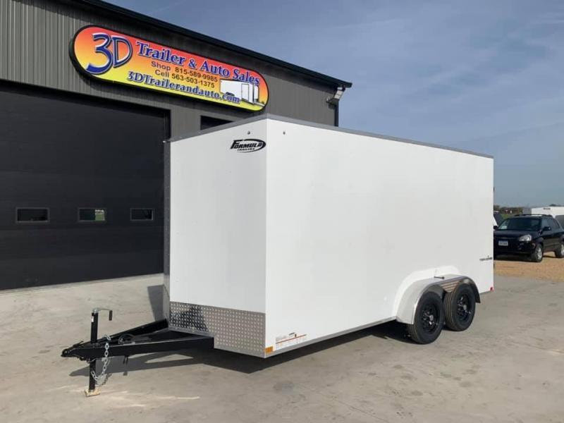 2021 Formula Trailers 7' X 16' X 7' Traverse UTV PKG Enclosed Cargo Trailer
