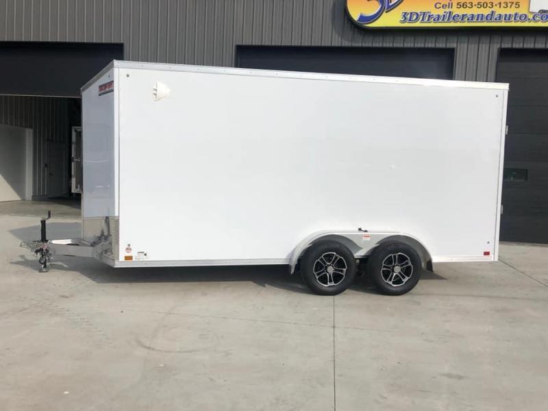 2021 Discovery 7' x 16' x 7'  Aluminum UTV PKG Enclosed Trailer w/ Ramp