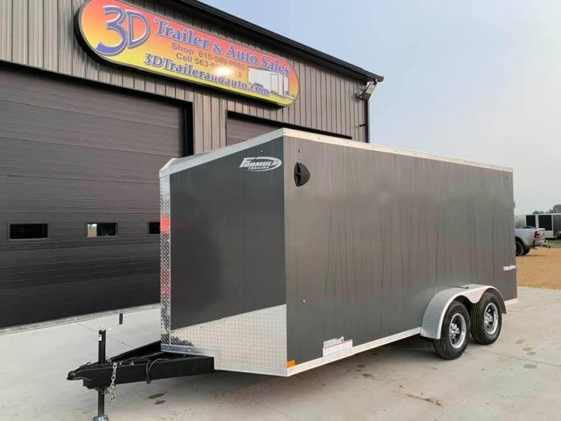 2021 Formula Trailers 7' x 16' x 6'6 Triumph Extra Tall Enclosed Trailer