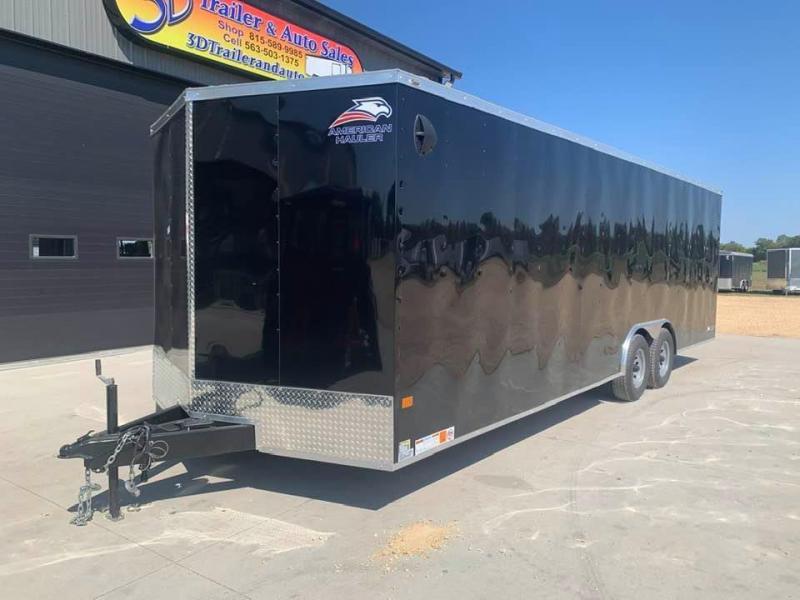 2021 AMERICAN HAULER 8.5' x 24' x 6'6 ARROW 10K GVWR Race Car Enclosed Trailer