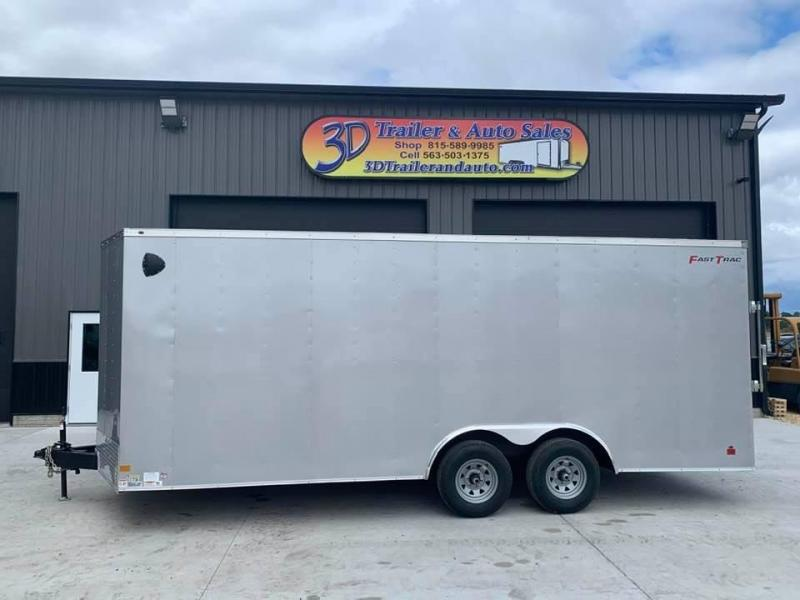 2021 Wells Cargo 8.5' x 24' x 7' Fast Track Deluxe Wedge Front Enclosed Cargo Trailer