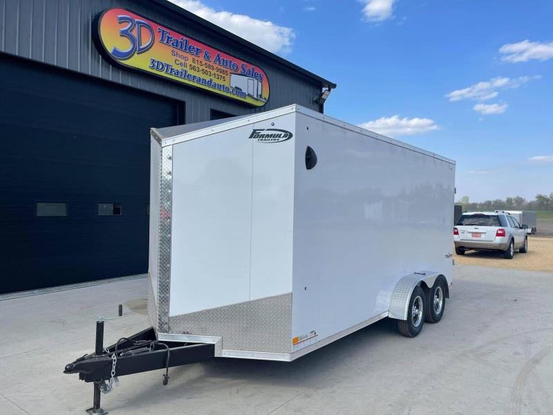 2022 Formula Trailers 7' X 16' X 7' Triumph Enclosed Cargo Trailer