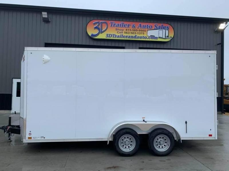 2021 Discovery 7' x 16' x 7' Rover SE Enclosed Cargo Trailer w/ Barn Doors