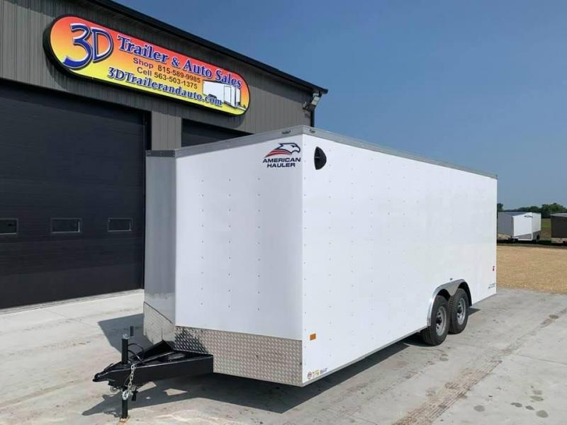 2021 AMERICAN HAULER 8.5' x 20' x 7' ARROW 10K GVWR Race Car Enclosed Trailer