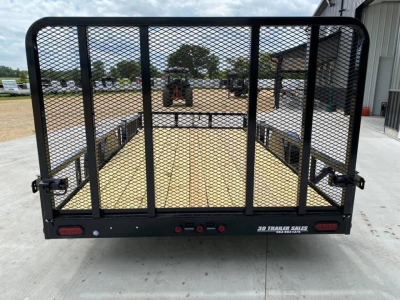 2021 Heartland 7' x 14' ATV TRAILER Front Side Load Ramps & 4' Gate Open Utility Trailer