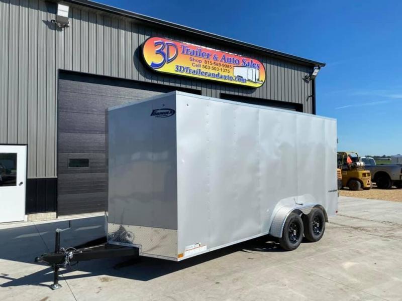 2022 Formula Trailers 7' X 16' X 7' Traverse Enclosed Cargo Trailer