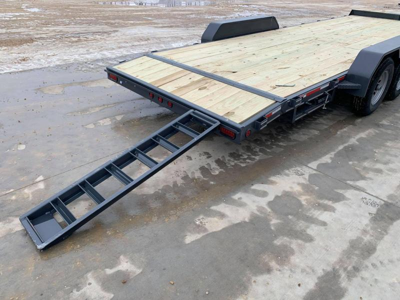 2021 Heartland 22' 10K GVWR Flat Bed Car Trailer