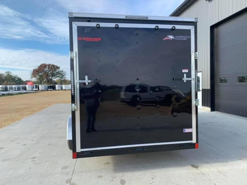 2021 American Hauler 7' x 16' x 7' 7k Arrow Deluxe UTV PACKAGE Enclosed Trailer