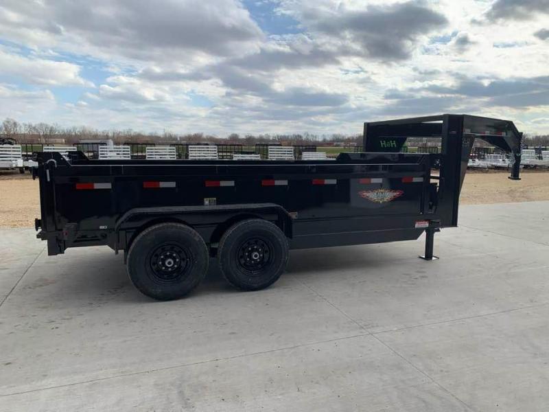 "2020 H & H 83"" x 14' 14k Gooseneck Dump Trailer"