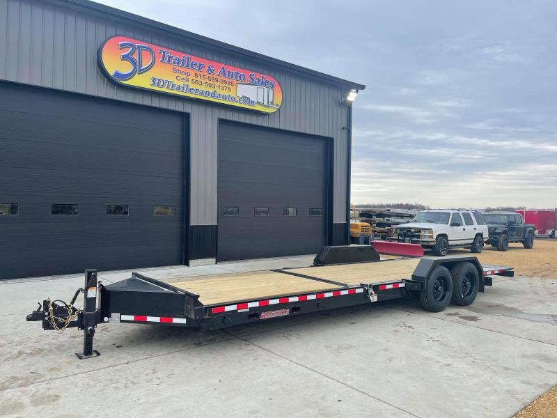 2021 Midsota TB 24' 17600LB GVWR Tilt Bed Equipment Trailer