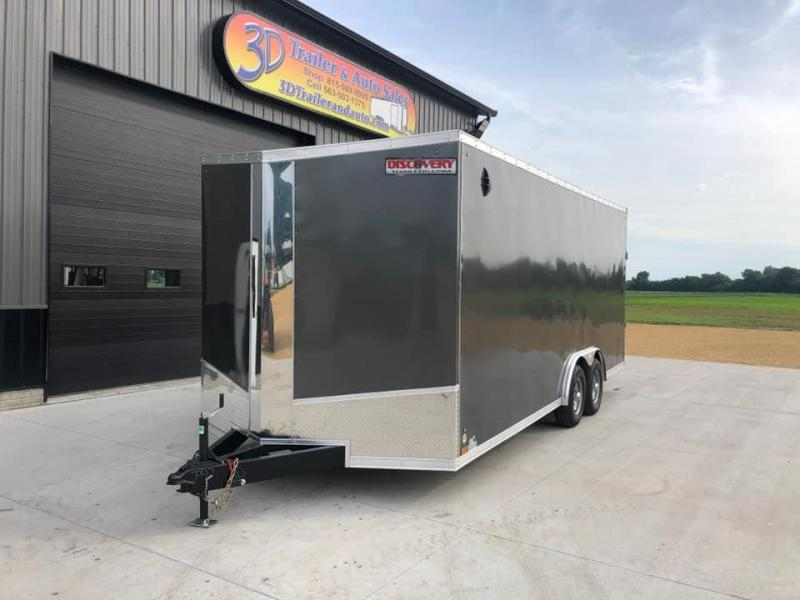 2021 Discovery 8.5' X 20' X 7' 10K CHALLENGER SE RAMP DOOR ENCLOSED CARGO TRAILER