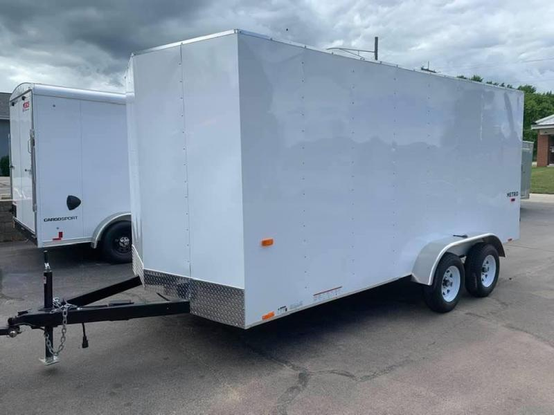 "2021 Pace American 7' x 16' x 6'6"" Metro Enclosed Trailer"