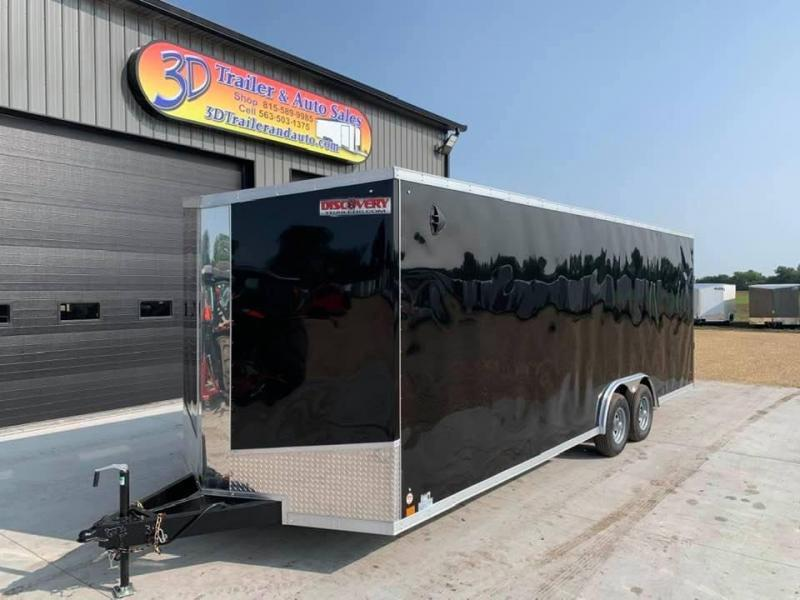 2022 Discovery 8.5' X 24' X 7'2'' 10K CHALLENGER SE RAMP DOOR ENCLOSED CARGO TRAILER