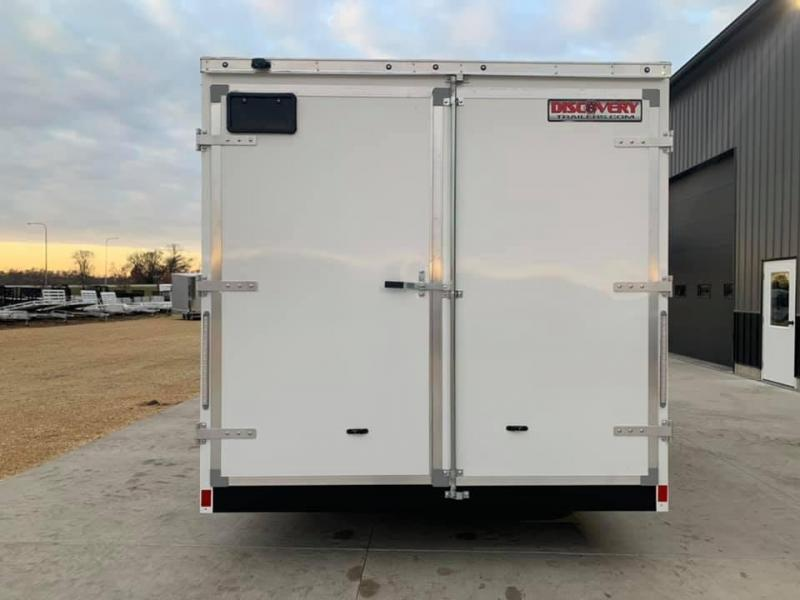 2021 Discovery 8.5' X 16' X 7' 10K CHALLENGER SE W/ BARN DOORS ENCLOSED CARGO TRAILER