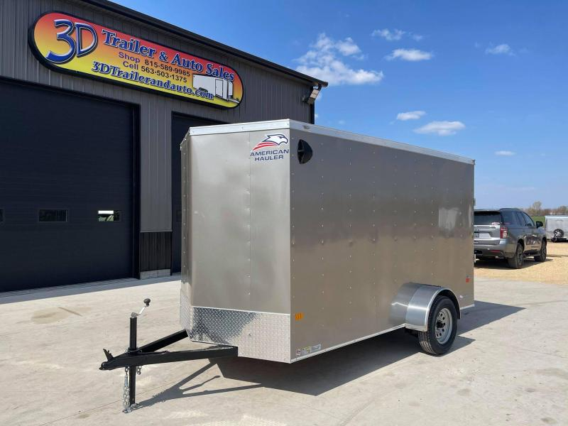 2021 American Hauler 6' x 12' x 6'6 Arrow  Enclosed Trailer