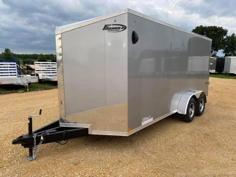 2020 Formula 7' x 16' x 6'6' 7k Triumph UTV PACKAGE Enclosed Trailer