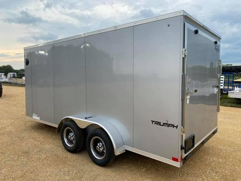 2020 Formula 7' x 16' x 6'6' 7k Triumph UTV PACKAGE Enclosed Trailer