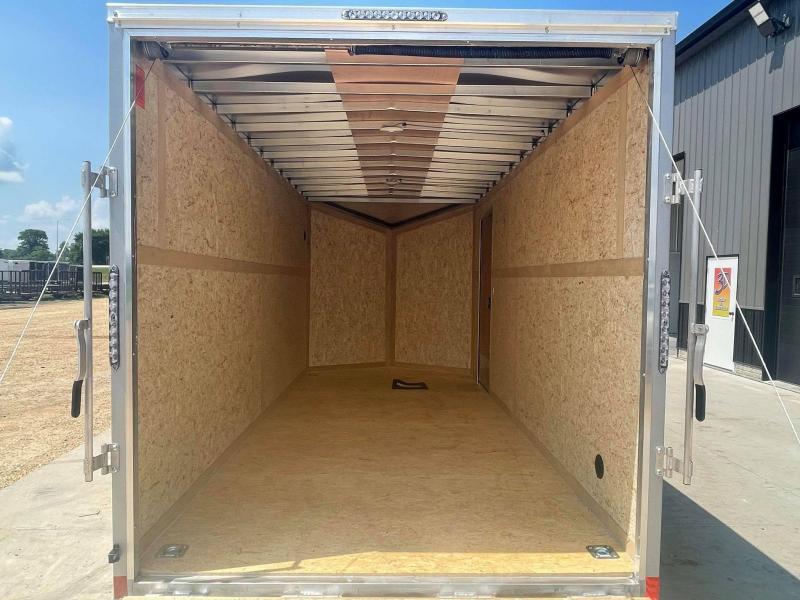 2022 Impact Trailers 7' X 16' X 7' Enclosed Cargo Trailer