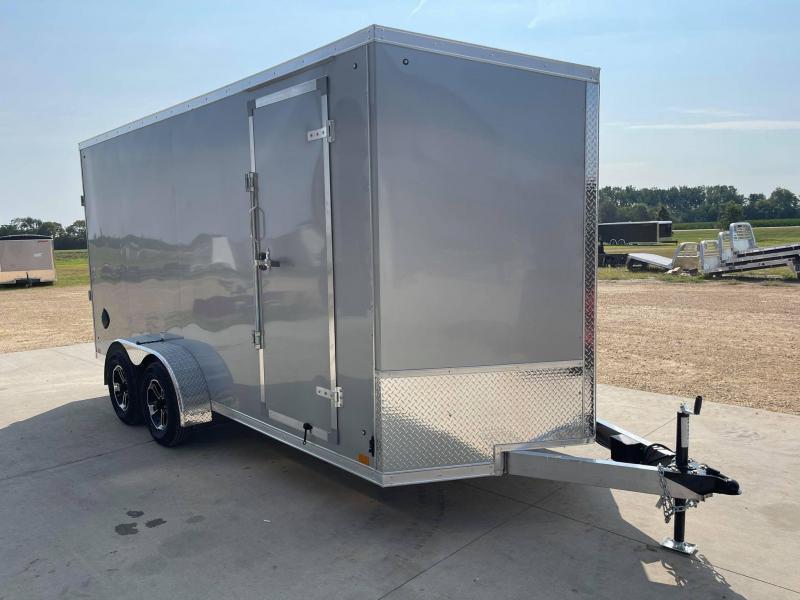 2022 Discovery 7' x 16' x 7' Endeavor Aluminum UTV PKG Enclosed Trailer w/ Ramp