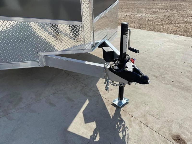 2022 Discovery 7' x 16' x 7'  Aluminum UTV PKG Enclosed Trailer w/ Ramp