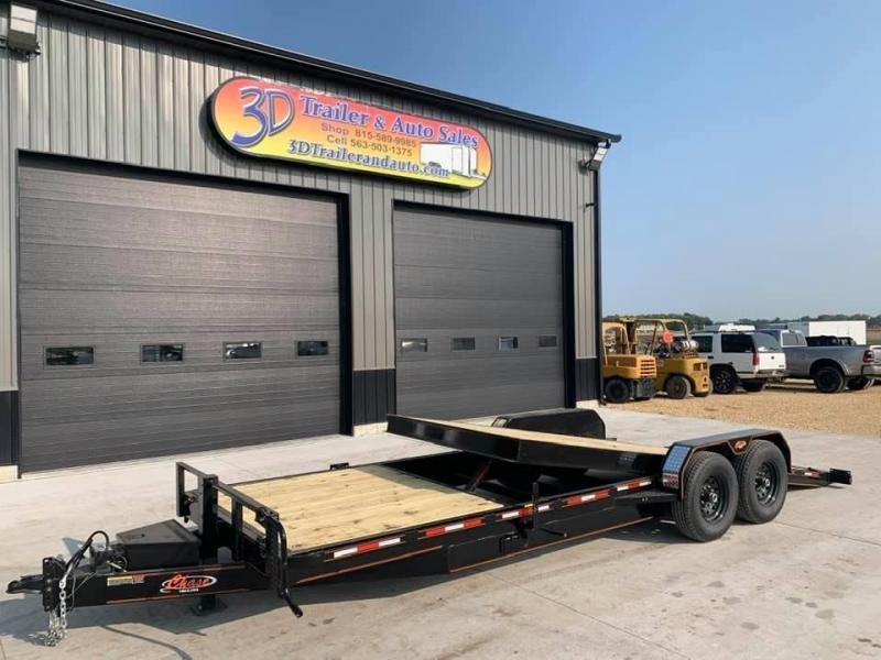 2021 Chase Trailers 24' 14K Split Deck Tilt Bed Equipment Trailer