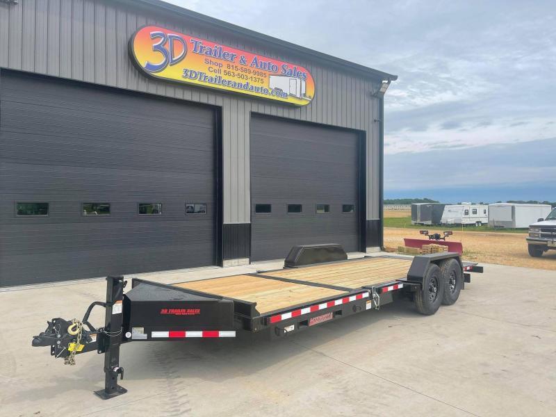 2022 Midsota TB 22' 17600LB GVWR Tilt Bed Equipment Trailer