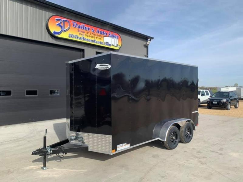 2021 Formula 7' X 14' X 7' Traverse Enclosed Cargo Trailer