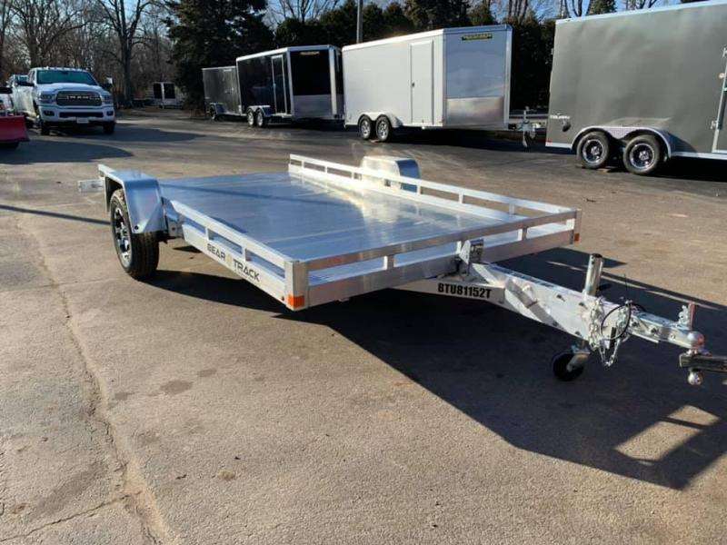 "2020 Bear Track 81""X12' Tilt Bed Utility Trailer"