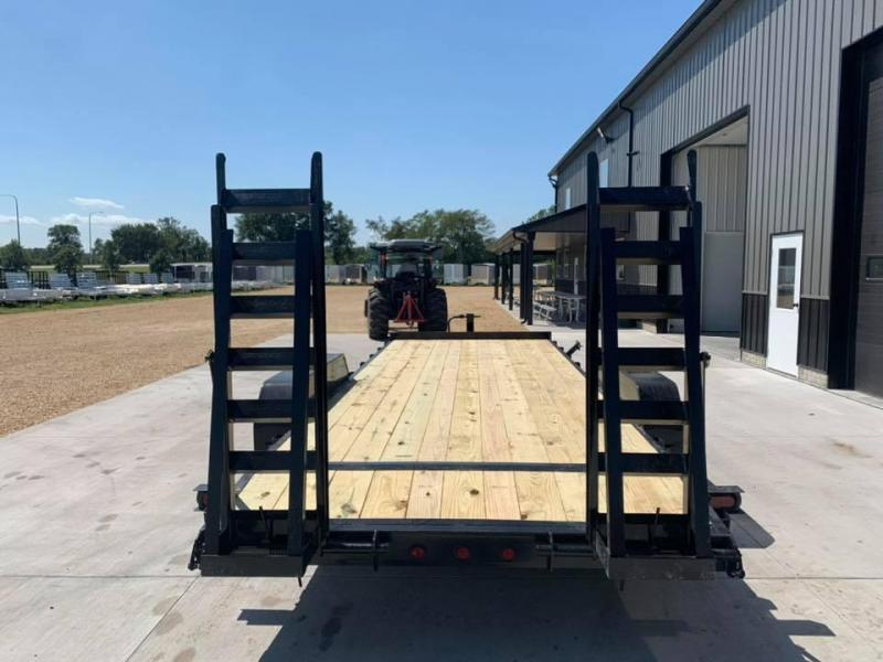 2020 Heartland 20' 14K Heavy Duty Equipment Trailer w/ Stand Up Ramps