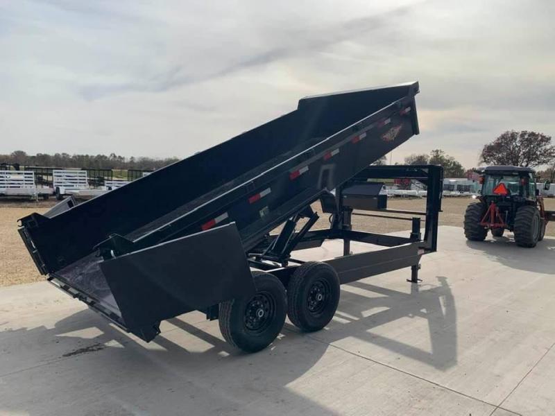 "2021 H & H 83"" x 16' 14k Gooseneck Dump Trailer"