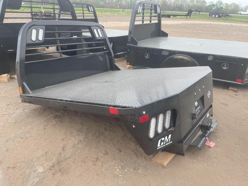 2021 CM Truck Beds RD STEEL FLAT DECK BODY 7'/84/38/42 Truck Bed