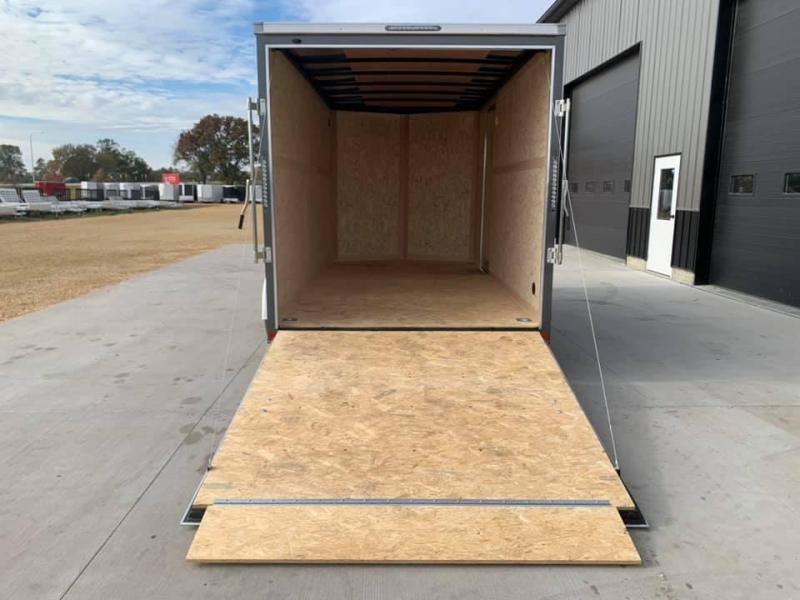2021 American Hauler 7' x 14' x 7' 7k Arrow Deluxe UTV PACKAGE Enclosed Trailer