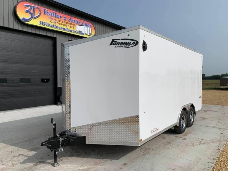 2021 Formula 8.5' x 16' x 7' 10k Triumph Enclosed