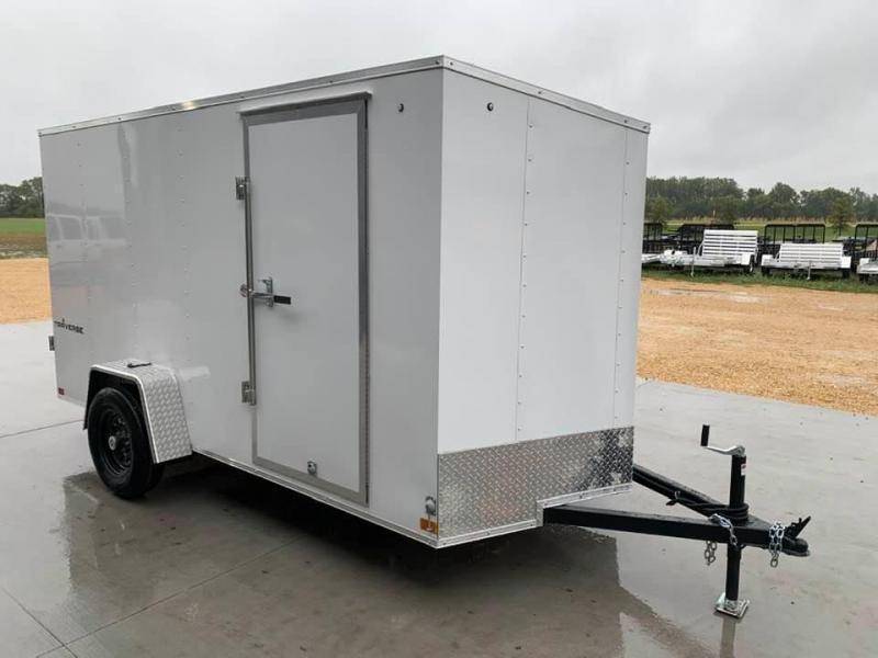 2022 Formula 6' x 12' x 6'6 Traverse Enclosed Cargo Trailer