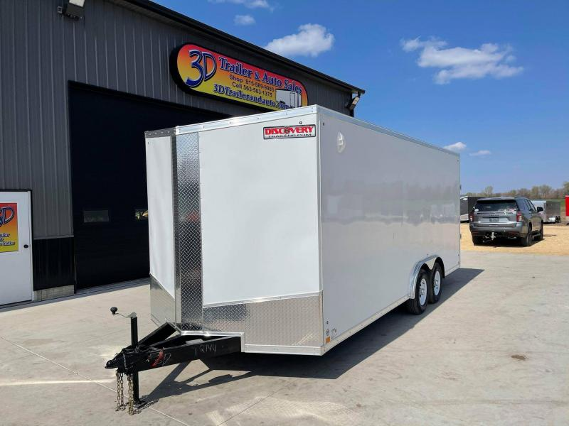 2022 Discovery 8.5' X 20' X 7'2'' 10K CHALLENGER SE RAMP DOOR ENCLOSED CARGO TRAILER