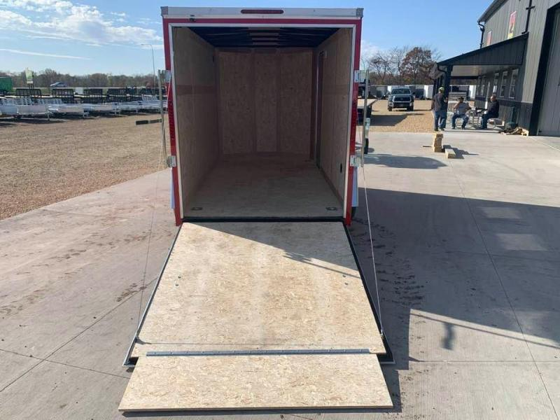 2021 Wells Cargo 6' X 12' X 6'6 Fast Track Deluxe Wedge Front UTV Enclosed Cargo Trailer