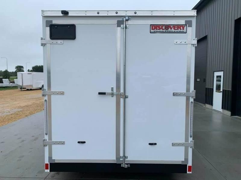 2021 Discovery 7' x 14' x 7' Rover SE Enclosed Cargo Trailer w/ Barn Doors