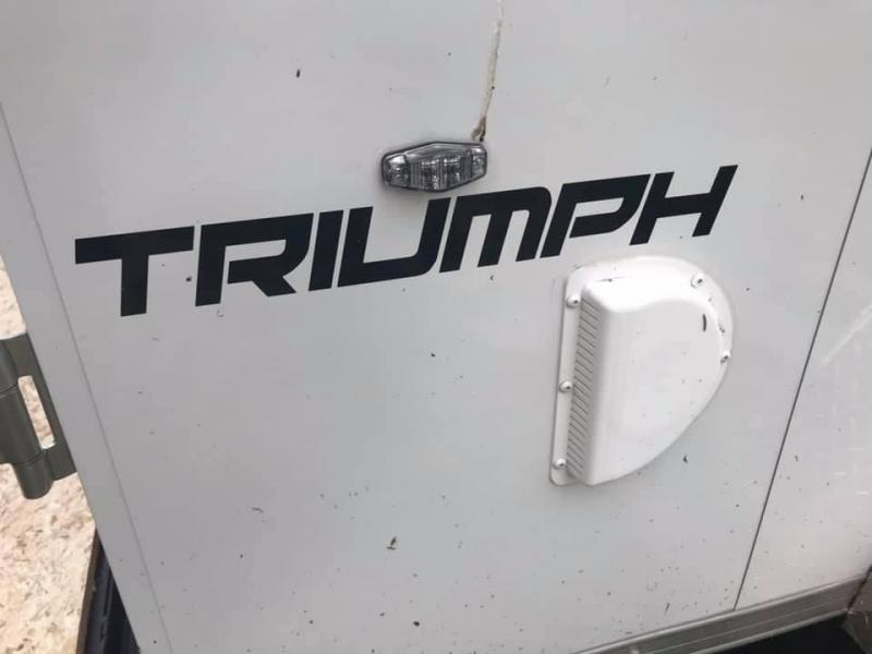 2021 Formula 7' x 14' x 7' 7k Triumph UTV PACKAGE Enclosed Trailer