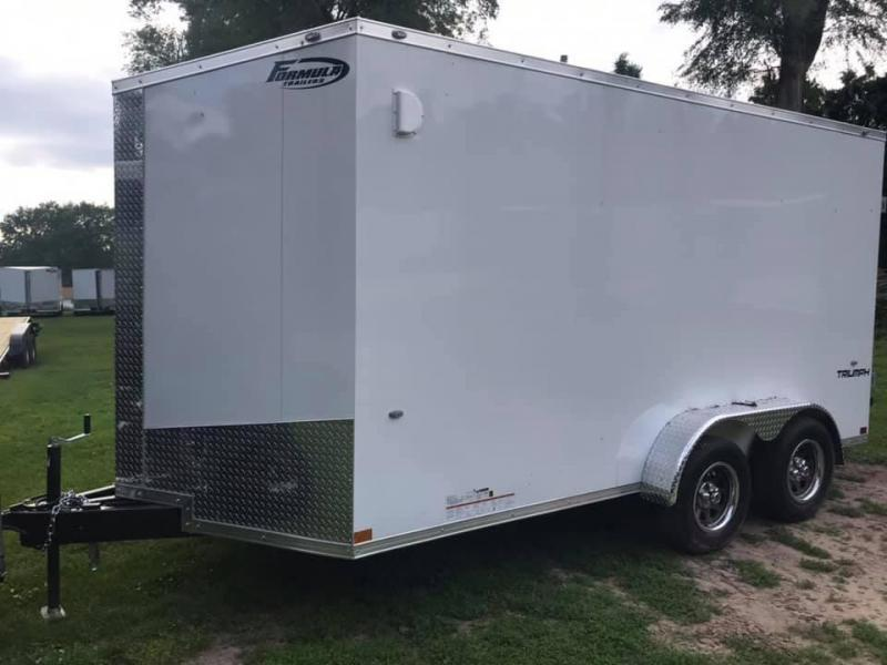 2021 Formula 7' x 14' x 7' 7k Triumph UTV PACKAGE Enclosed Trailer
