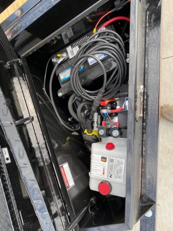 """2021 H & H 82"""" X 20' 14k Speedloader EX Power Tiltbed Car / Racing Trailer"""