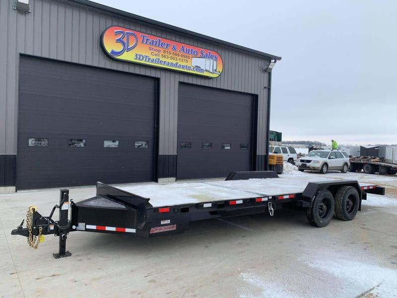 2021 Midsota TBHD 24' 22000LB GVWR Tilt Bed Equipment Trailer