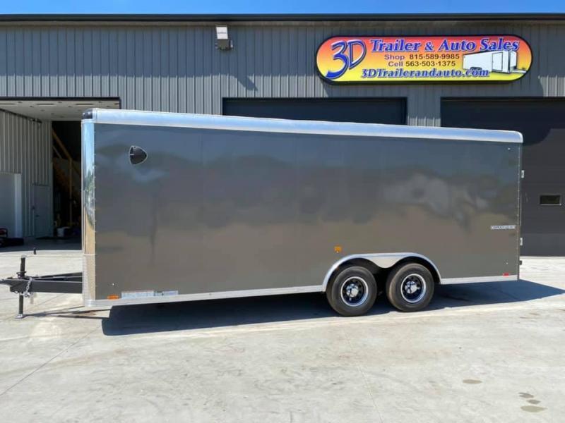 2021 Pace American 8.5' x 20' x 7' 10K GVW Cargo Sport Extra Tall PREMIUM Enclosed Trailer