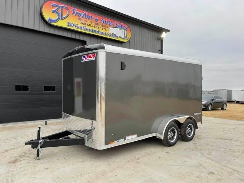 2022 Pace American 7' x 14' x 7' EXTRA TALL Cargo Sport PREMIUM Enclosed Trailer